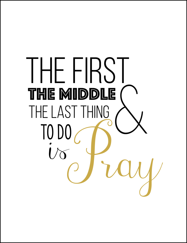 First-middle-last-pray