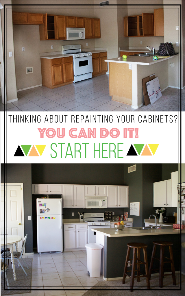 How to repaint your cabinets
