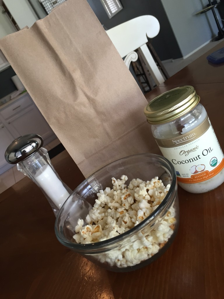 Microwave Popcorn!