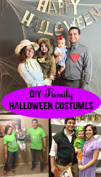 diy family halloween costume ideas a happier home. Black Bedroom Furniture Sets. Home Design Ideas