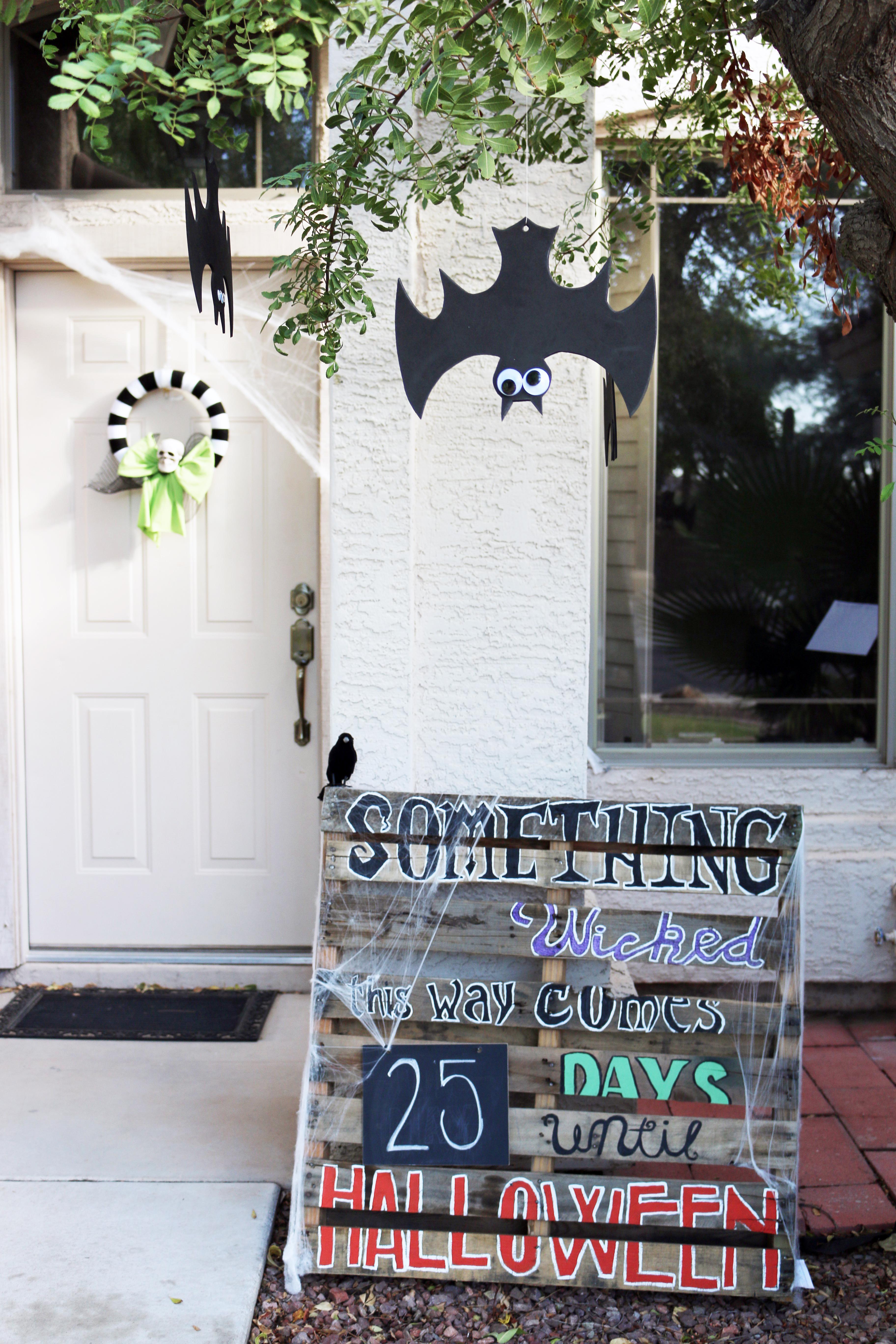 Easy DIY Halloween Decorations - A Happier Home